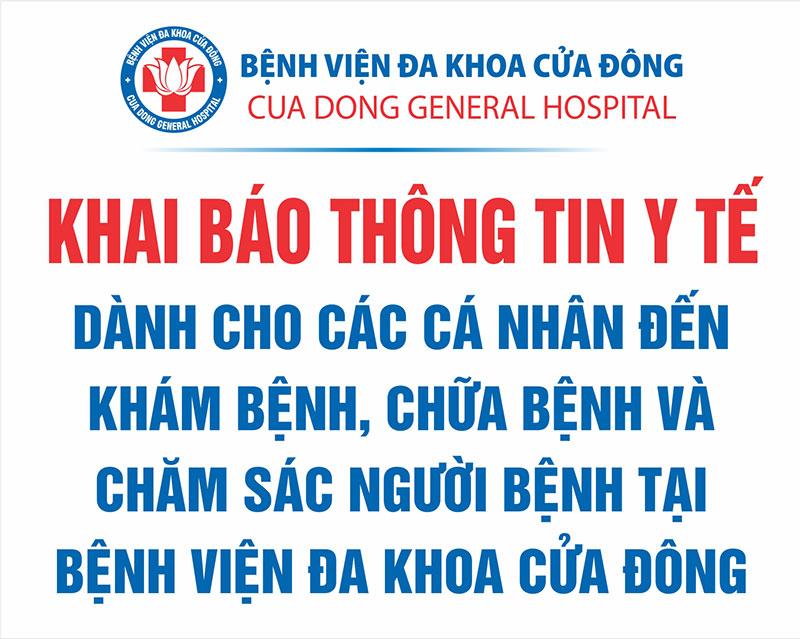 Khai bao y te online
